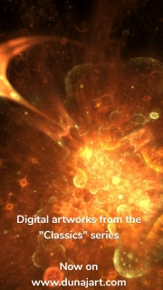 "Digital artworks from the ""Classics"" series Now on www.dunajart.com"